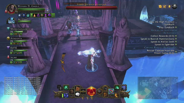 J4 DOMINICANO playing Neverwinter