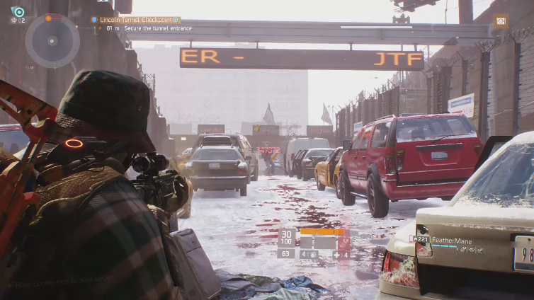 AllOvaMyself playing Tom Clancy's The Division